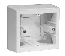 Pulse button and pulse key switch, Mounting box